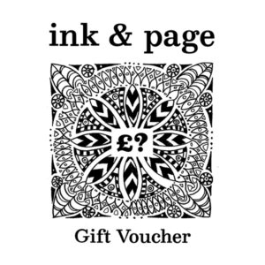 Ink and page gift voucher