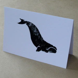 Right Whale greetings card